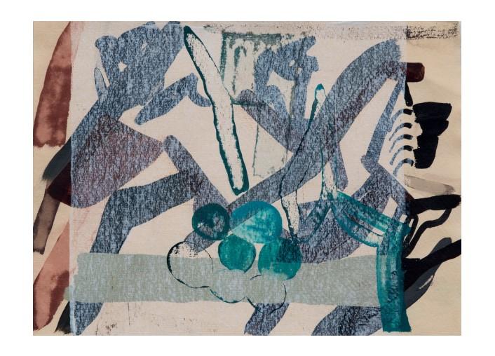 Amy Sillman - postkaartenreeks voor Solitude